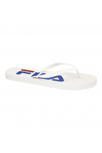Tongs blanches Troy Slipper FILA / 1010288