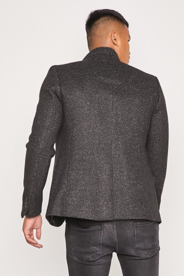 Pull en maille blanc manches longues