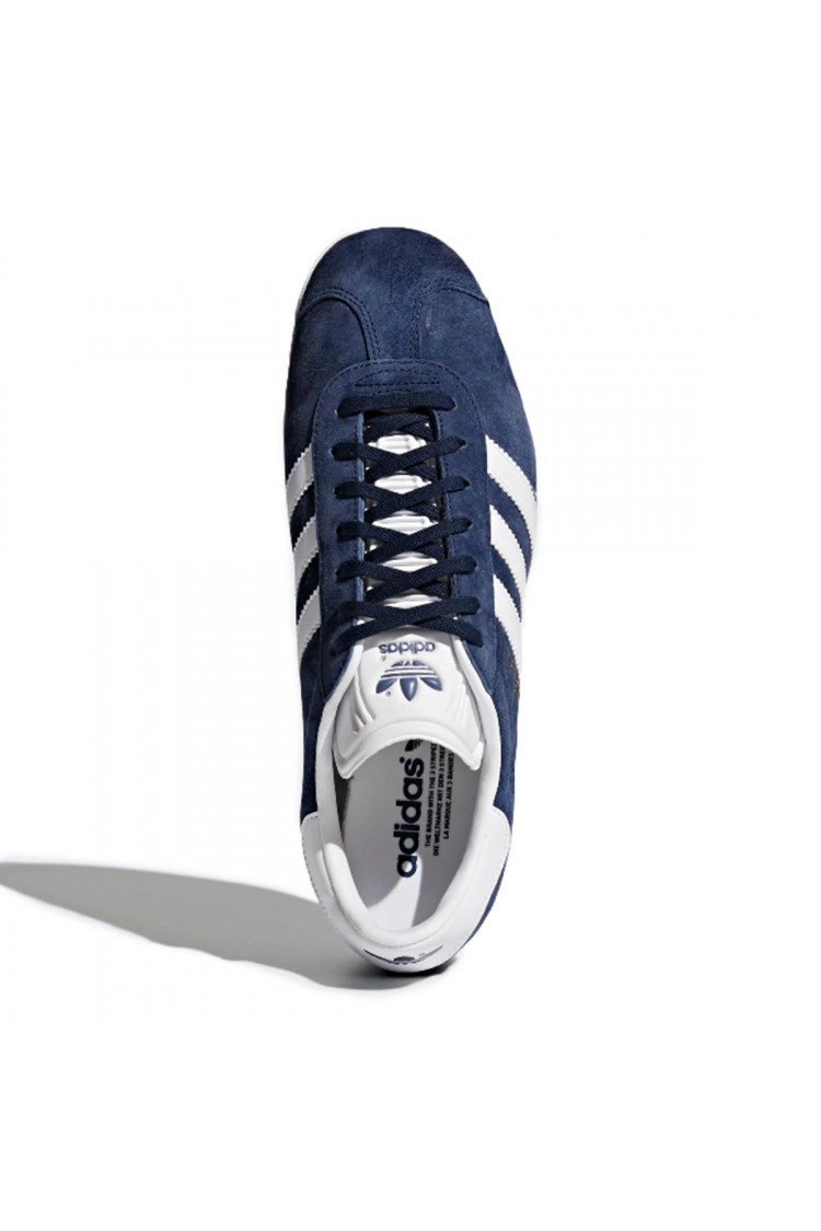 Blue and white gazelle sneakers / adidas - Brentiny Paris
